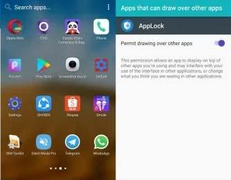 cara mengunci aplikasi wa