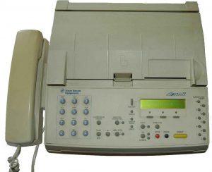 faksimili Fax Peralatan Teknologi Informasi dan Komunikasi