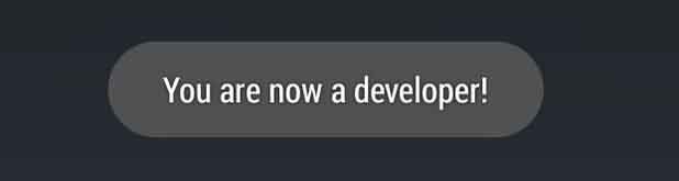 cara memunculkan developer option