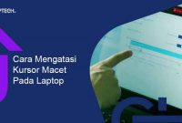 Cara Mengatasi Kursor Macet Pada Laptop LenovoToshiba