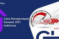 Tips & Cara Mempercepat Koneksi Wifi Indihome Menggunakan CMD