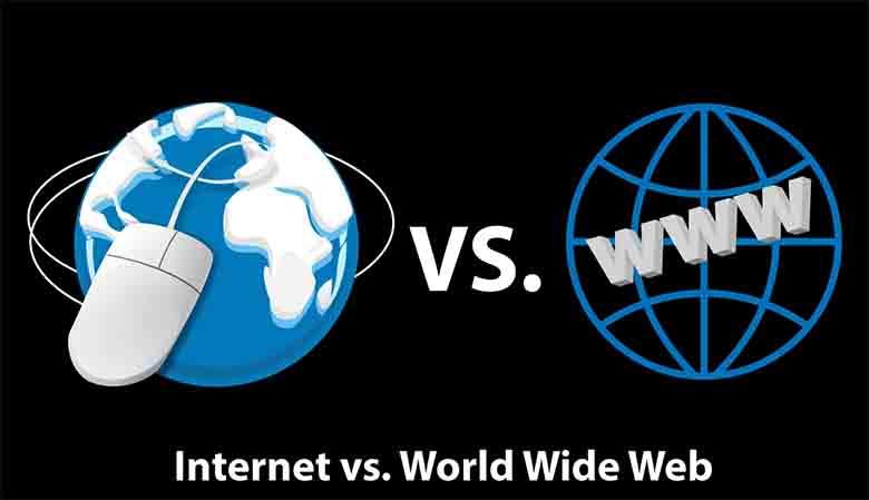 perbedaan www dan internet
