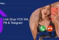 link grup vcs wa facebook telegram